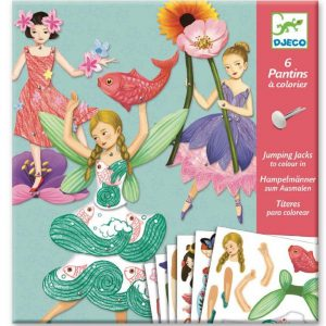 Djeco Fairy Puppets Paper Craft - Educational Toys Online