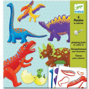Djeco Dinosaur Puppets Paper Craft - Educational Toys Online