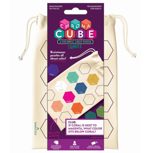 Chroma Cube Puzzle Travel Game - Project Genius - Educational Toys Online