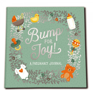 Pregnancy Journal - Bump For Joy Baby Book - Studio Oh! - Educational Toys Online