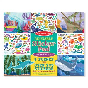 Melissa & Doug Reusable Sticker Pad - Under the Sea - Educational Toys Online