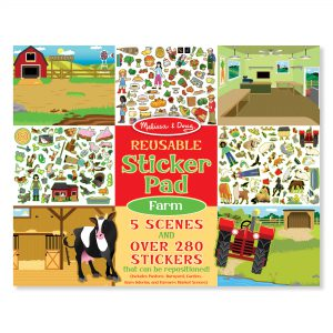 Melissa & Doug Reusable Sticker Pad - Farm - Educational Toys Online