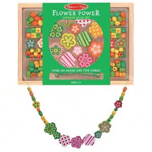 Melissa & Doug Wooden Flower Power Bead Set - Educational Toys Online