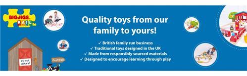 Bigjigs Passenger Train - Educational Toys Online